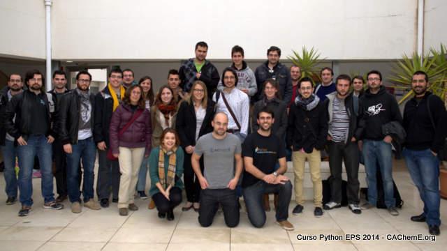 Foto de grupo - Curso Python Alicante