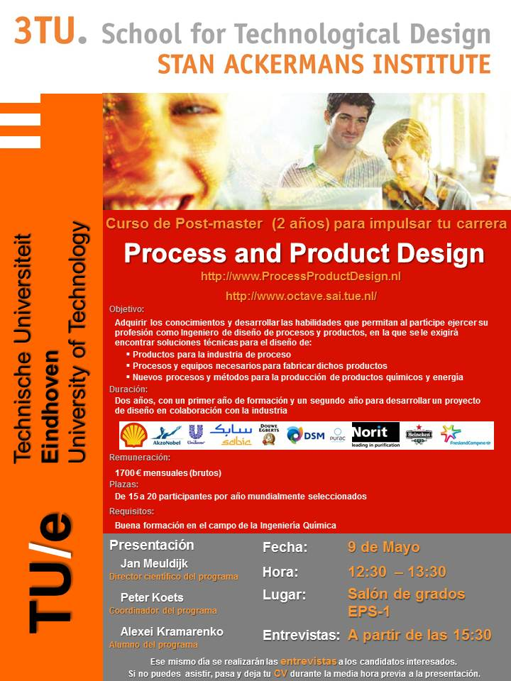 Master Process and Product Design TU/e
