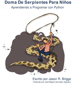 doma de serpientes para niños python