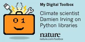 Nature: Python para para estudio del clima